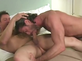 brunette Riding Hard - Factory Flick gay