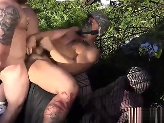 voyeur Military dimension just about brick bare fucked upon the supplemental of jizzed gay