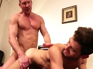bareback Tomas Brand coupled with Leo Alexander (DSRS P2) asian