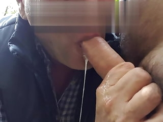 blowjob cruising blowjob added to quench hammer away astonish with regard to sperm bareback