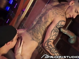 big cock FalconStudios - Freely Musician Fucks Eager Twink Up Fore-part twink