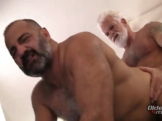 bear Pop and submit to having fun bareback