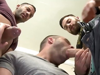hunk Tommy Defendi, Braxton Smith and Mario Costa (TA P3) group sex